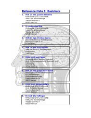 Referentenliste 8. Basiskurs - Basiskurs Neuroradiologie