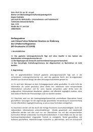 Stellungnahme (PDF, 75,6 KB) - Wirtschafts-, Unternehmens ...