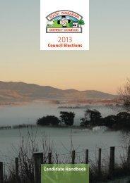 Candidate Handbook Council Elections - South Wairarapa District ...