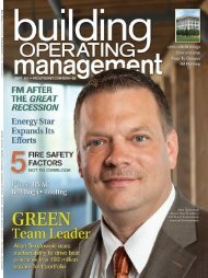 Building Operating Management September 2011 - FacilitiesNet
