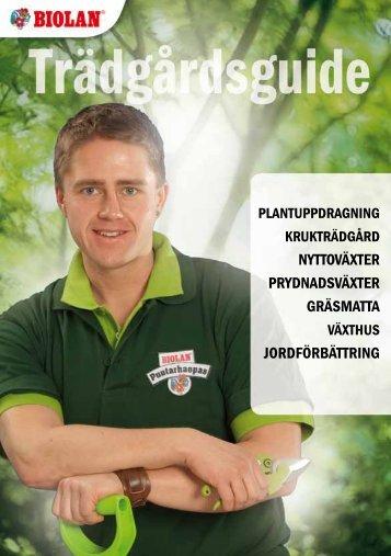 nyttoväxter prydnadsväxter gräsmatta jordförbättring - Biolan