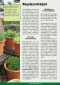 nyttoväxter prydnadsväxter gräsmatta jordförbättring - Biolan - Page 5
