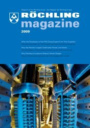 magazine 2009 - Röchling Engineering Plastics