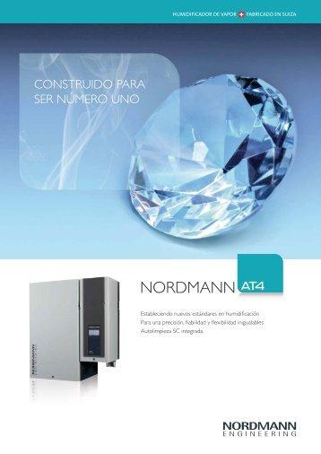 Catálogo Humidificador Nordmann AT4 - Tecna