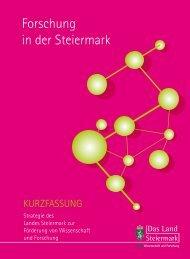 Forschungsstrategie - Land Steiermark