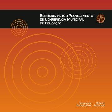 Ministério da Educação Secretaria de Educação Básica - Livros Grátis
