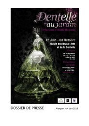 Dentelle au Jardin, Créations d'Annie Bascoul - Alençon