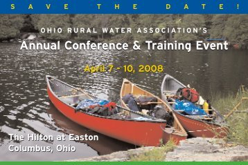 Annual Conference & Training Event! - Ohiowater.org