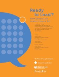 Ready to Lead? - CompassPoint Nonprofit Services