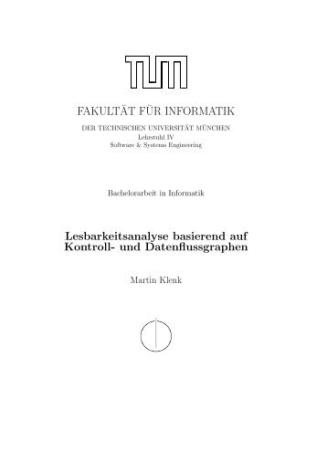 und Datenflussgraphen - Software and Systems Engineering ...