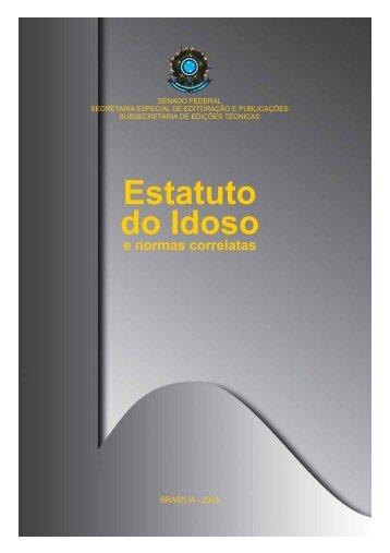 Estatuto do Idoso - Livros Grátis