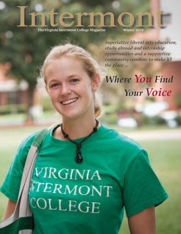 CollegeMagazineWinte.. - Virginia Intermont College