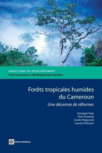gramme sur les Forêts » (PROFOR) pour leurs conseils