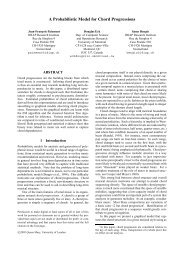 A Probabilistic Model for Chord Progressions