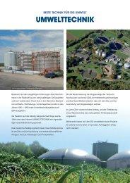 SBN Flyer Umwelttechnik - SCHACHTBAU NORDHAUSEN GmbH