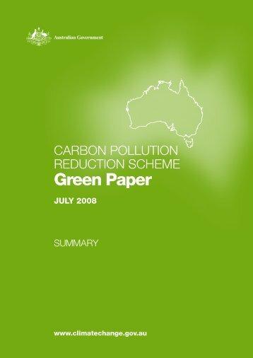 Carbon Pollution Reduction Scheme Green Paper ... - Business NZ