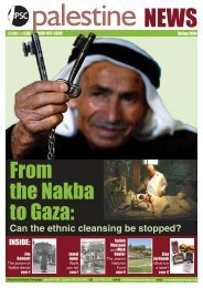 From the nakba to Gaza: - Palestine Solidarity Campaign