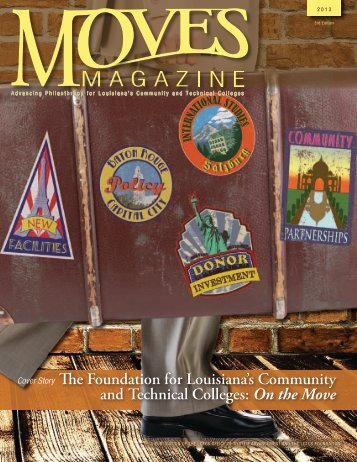 On the Move - Louisiana Community and Technical College System