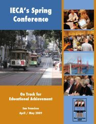 IECA's San Francisco Conference Brochure - Educational ...