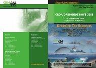 Programme (PDF) - Central Dredging Association