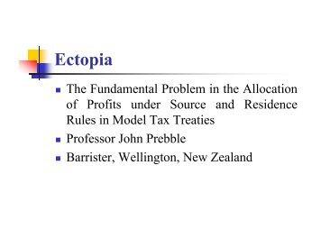 Ectopia - Foundation for International Taxation