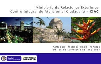 Diapositiva 1 - Ministerio de Relaciones Exteriores