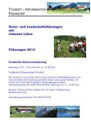 mit Johanna Labus - Frasdorf