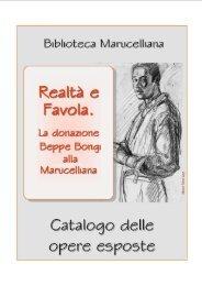 Elenco delle opere esposte - Biblioteca Marucelliana