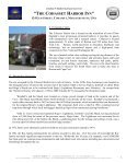 Details - Cohasset, Cohasset Harbor Inn - FINAL ... - Jonathan Radford - Page 2