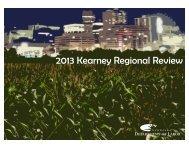 2013 Kearney Regional Review - NEworks - State of Nebraska