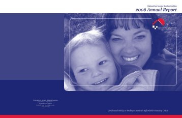 2006 Annual Report - National Low Income Housing Coalition