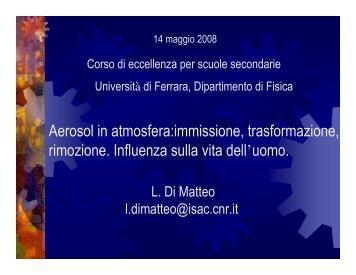 Diapositive della presentazione