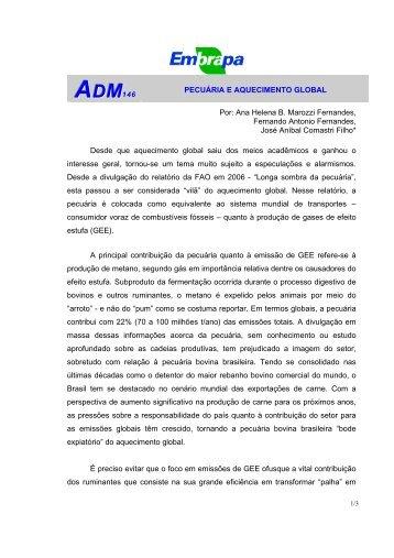 ADM146 - Embrapa Pantanal
