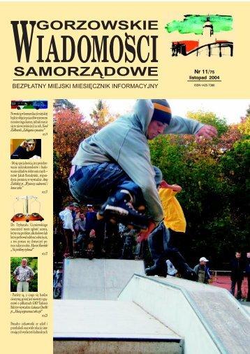 GWS Nr 11/2004 - Gorzów