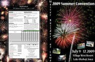 View the 2009 Summer Convention Brochure - Master Builders of Iowa