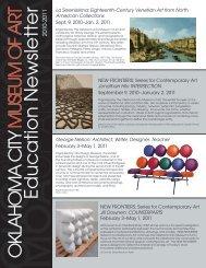 Education Newsletter - Oklahoma City Museum of Art