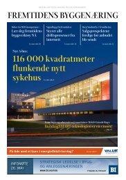 116 000 kvadratmeter flunkende nytt sykehus - buildingSMART