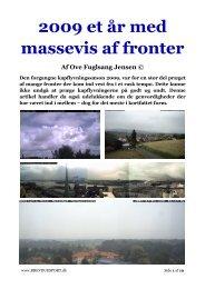 2009 et år med massevis af fronter - Dansk Brevduesport