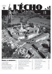 Octobre 2010 - OPI des Tescou's