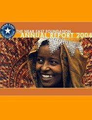 NEF 2004 Annual Report - Near East Foundation