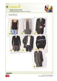 Kleider machen Leute? - Nakladatelství FRAUS