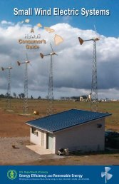 Small Wind Electric Systems: A Hawaii Consumer's Guide - NREL