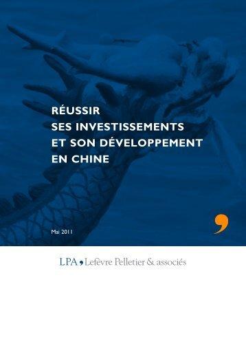 investissement - Lefèvre Pelletier & associés