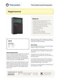 Reglercentral - Thermotech Scandinavia AB