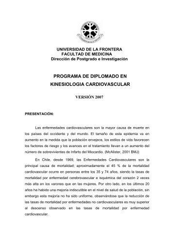 programa - Facultad de Medicina UFRO - Universidad de La Frontera