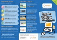 Keeping Up With Children on the Internet - Kidsmart