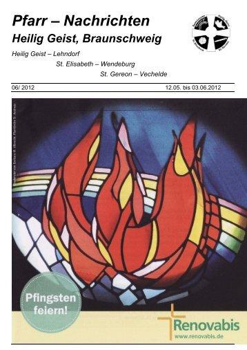 Pfarr – Nachrichten - Heilig Geist Braunschweig