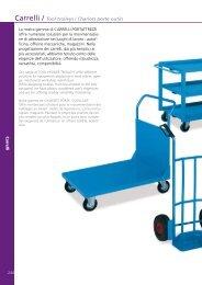 Carrelli / Tool trolleys / Chariots porte outils - Galatek