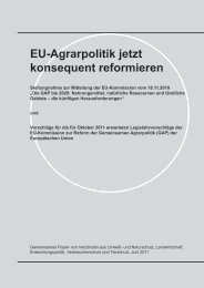 EU-Agrarpolitik jetzt konsequent reformieren - Meine Landwirtschaft
