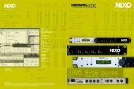 Nexo NX242 Brochure - Group Technologies
